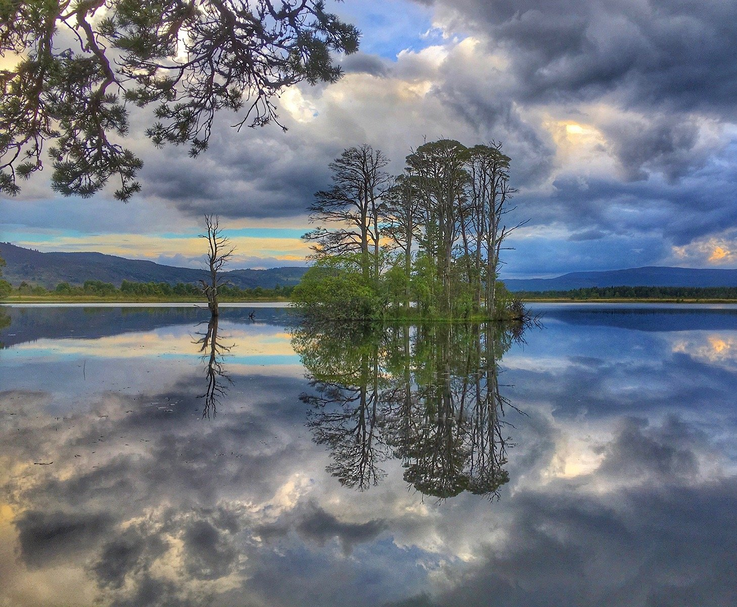loch view - Vic Brookes